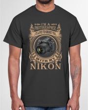 I AM PHOTOGRAPHER - NIKON D750 Classic T-Shirt garment-tshirt-unisex-front-03