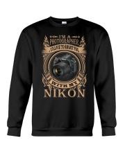 I AM PHOTOGRAPHER - NIKON D750 Crewneck Sweatshirt thumbnail