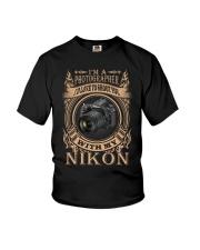 I AM PHOTOGRAPHER - NIKON D750 Youth T-Shirt thumbnail