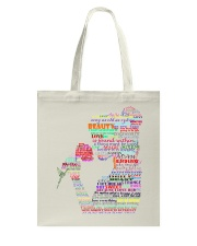 beauty and the beast art Tote Bag thumbnail