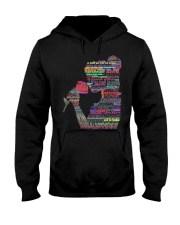 beauty and the beast art Hooded Sweatshirt thumbnail