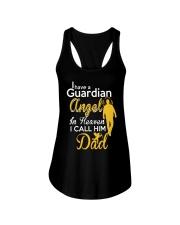 GUARDIAN ANGEL DAD Ladies Flowy Tank thumbnail