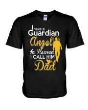 GUARDIAN ANGEL DAD V-Neck T-Shirt thumbnail