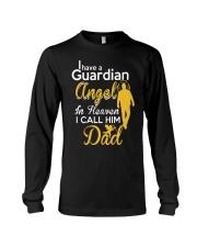 GUARDIAN ANGEL DAD Long Sleeve Tee front