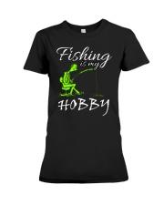 FISHING-4 Premium Fit Ladies Tee thumbnail