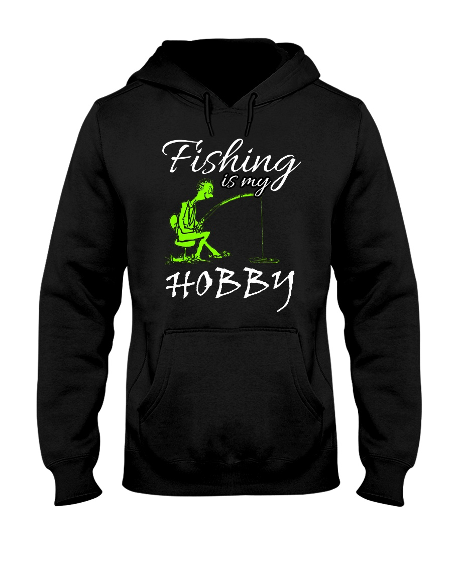 FISHING-4 Hooded Sweatshirt