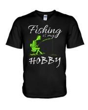 FISHING-4 V-Neck T-Shirt thumbnail