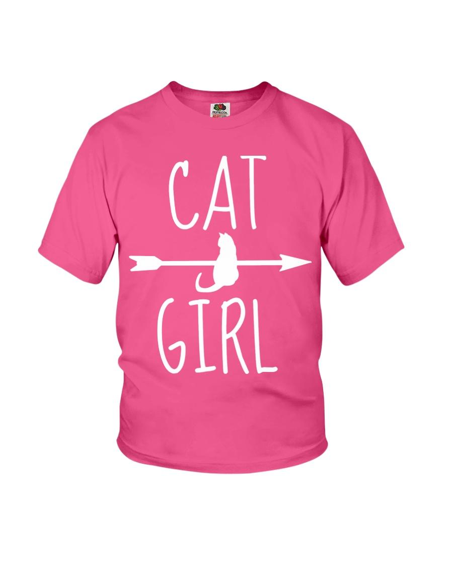 Cat Girl Youth T-Shirt
