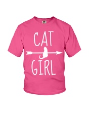 Cat Girl Youth T-Shirt front