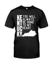 Kentucky Will Always Be Home To My Heart Premium Fit Mens Tee thumbnail