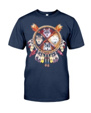 MORE WOLVES DREAMCATCHER  Classic T-Shirt front
