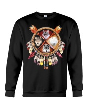 MORE WOLVES DREAMCATCHER  Crewneck Sweatshirt thumbnail