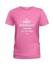 That Crazy Rodriguez Ladies T-Shirt thumbnail