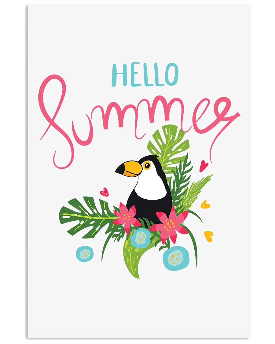 Hello Summer Toucan 11x17 Poster