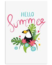 Hello Summer Toucan 11x17 Poster front