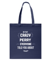 That Crazy Perry Tote Bag thumbnail