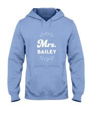 Mrs Bailey Hooded Sweatshirt front