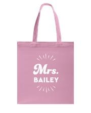 Mrs Bailey Tote Bag thumbnail