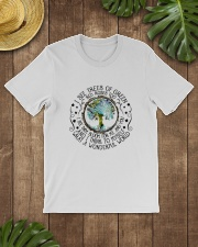 What A Wonderful World Classic T-Shirt lifestyle-mens-crewneck-front-18