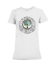 What A Wonderful World Premium Fit Ladies Tee thumbnail