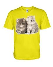 asdfasdf V-Neck T-Shirt front