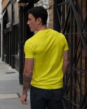 asdfasdf V-Neck T-Shirt lifestyle-mens-vneck-back-1