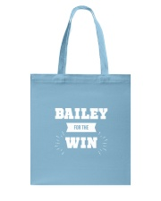 Bailey for the Win Tote Bag thumbnail