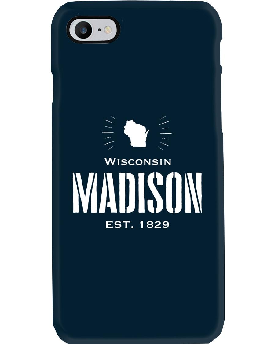 Madison winsconsin USA Phone Case
