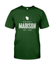 Madison winsconsin USA Classic T-Shirt thumbnail