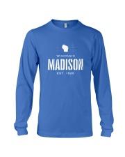 Madison winsconsin USA Long Sleeve Tee thumbnail