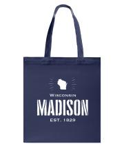 Madison winsconsin USA Tote Bag thumbnail