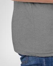 Dad Gamer Premium Fit Mens Video Game T-Shirt  Premium Fit Mens Tee garment-premium-fit-men-tee-detail-left-hip-01