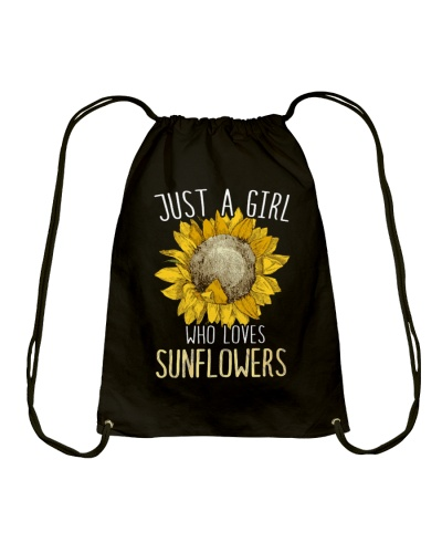JUST A GIRL WHO LOVES SUNFLOWERS