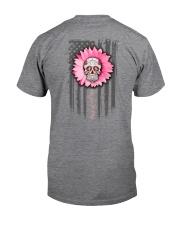 Breast Cancer Sugar Skull Classic T-Shirt tile