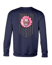 Breast Cancer Sugar Skull Crewneck Sweatshirt tile