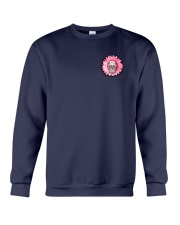 Breast Cancer Sugar Skull Crewneck Sweatshirt tile