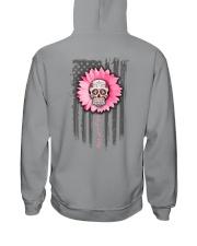 Breast Cancer Sugar Skull Hooded Sweatshirt tile