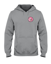 Breast Cancer Sugar Skull Hooded Sweatshirt thumbnail