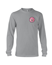 Breast Cancer Sugar Skull Long Sleeve Tee tile