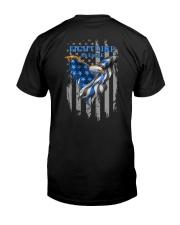 Diabetes - Fight Like An Eagle Classic T-Shirt back