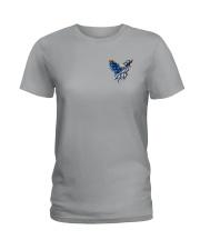 Diabetes - Fight Like An Eagle Ladies T-Shirt thumbnail