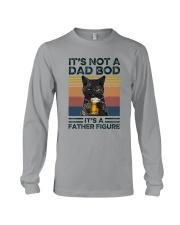 Black Cat Dad Bod Long Sleeve Tee tile