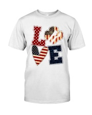 Girl Scout - Love America Classic T-Shirt front