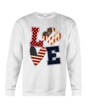 Girl Scout - Love America Crewneck Sweatshirt tile