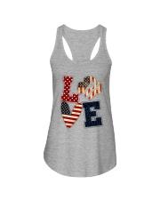 Girl Scout - Love America Ladies Flowy Tank tile