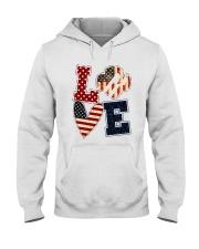 Girl Scout - Love America Hooded Sweatshirt tile