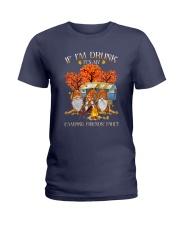 Camping - If Im Drunk Ladies T-Shirt thumbnail
