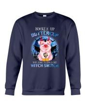 Pig - Buckle Up Buttercup Crewneck Sweatshirt tile