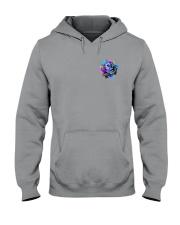 Suicide - Never Give Up 2 Sides Hooded Sweatshirt tile