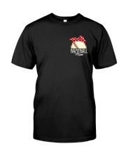 Baseball Mom Friends Classic T-Shirt front